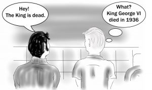 The Kings is Dead cartoon